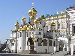 Загрузить увеличенное изображение. 800 x 600 px. Размер файла 119091 b.  Благовещенский собор Московского Кремля