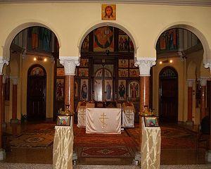 Интерьер церкви святителя Максима Туринского