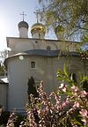 Божественная литургия в Неделю о расслабленном в Сретенском монастыре