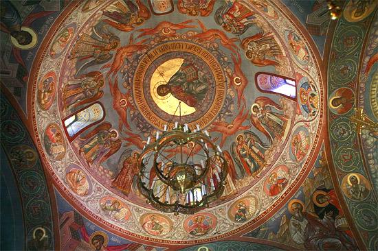 Джорданвилль. Роспись собора. Фото: М. Родионов / Православие.Ru