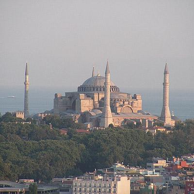 Agia Sophia. Constantinipole