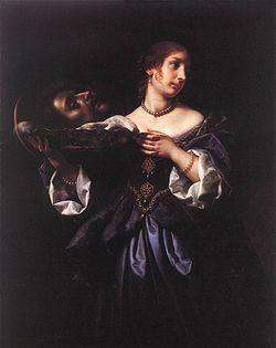 Табл. 7. Карло Дольчи. Саломея с головой св. Иоанна Крестителя. 1665–1670 гг. Дрезден, Картинная галерея