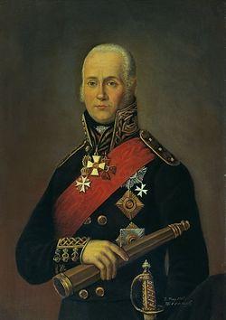 Табл. 15. Петр Бажанов. Портрет адмирала Ф.Ф. Ушакова. 1903 г.