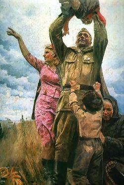 А. Китаев. Возвращение с Победой
