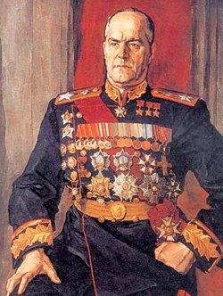 Портрет маршала Г. К. Жукова работы П. Корина