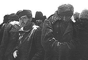 Пленные. Сталинград, 1943 г.