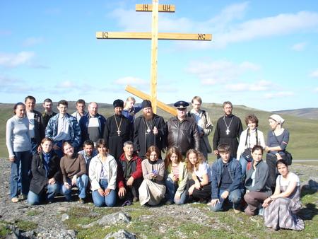 Владыка и миссионеры. Якутия. 2008 год