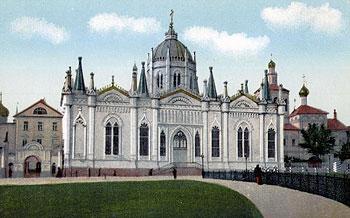 Московский Кремль. Вознесенский монастырь