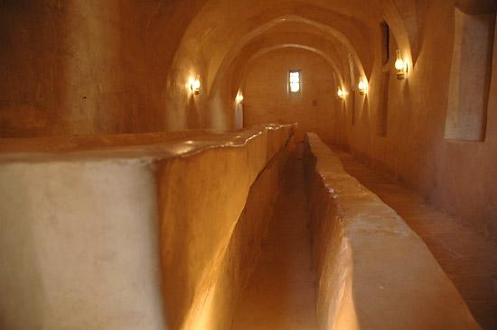 Трапезная в монастыре прп. Антония Великого