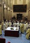 Председатель ОВЦС возглавил торжественное богослужение перед Туринской Плащаницей