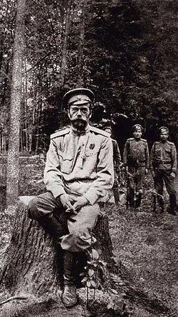 1917 год. Святой государь Император Николай II («гражданин» Романов) под арестом