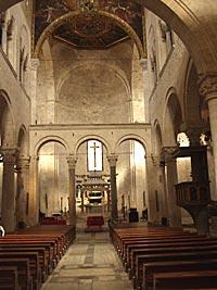 Внутренний вид базилики
