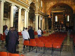 Загрузить увеличенное изображение. 500 x 375 px. Размер файла 41533 b.  В базилике Санта Мария Маджоре