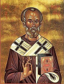 Святитель Николай Чудотворец, архиепископ Мир Ликийских