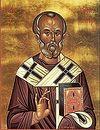 Божественная литургия в Сретенском монастыре в день памяти святителя Николая, архиепископа Мир Ликийских