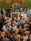 Богослужение в День Святой Троицы в Сретенском монастыре