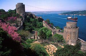 Загрузить увеличенное изображение. 800 x 523 px. Размер файла 150431 b.  Башни Константинополя