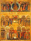 Божественная литургия в Неделю Всех святых в Сретенском монастыре