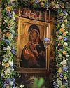 Всенощное бдение в Сретенском монастыре накануне праздника Сретения Владимирской иконы Божией Матери
