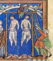 В Европе не просто казнили через повешение, а часто перед этим и четвертовали