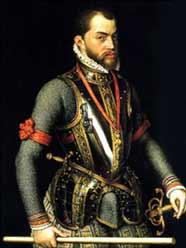 Испанский король Филипп II