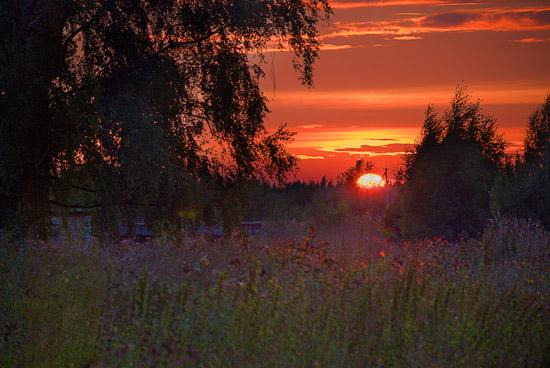 Ярославские закаты. Фото: А.Поспелов / Православие.Ru