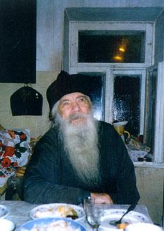 Архимандрит Павел (Груздев). Одна из последних фотографий.