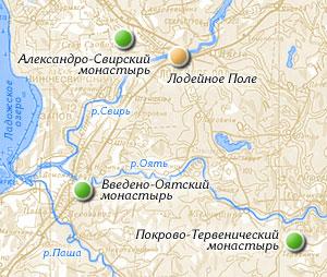 Монастыри Севера России