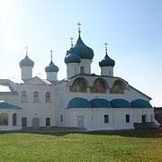 Преображенский собор, в котором покоятся мощи прп. Александра Свирского