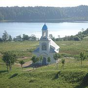 Часовня, построенная над святым источником
