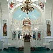 Интерьер церкви в честь Покрова Пресвятой Богородицы