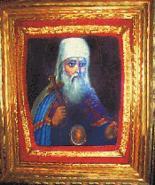 An icon of St. John of Tobolsk which belonged to St. John (Maximovitch).