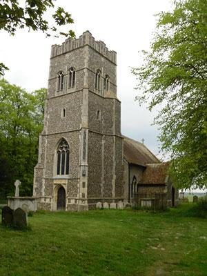Древняя церковь святого Этельберта в деревне Фолкенем, графство Саффолк (Фото: И. Лапа)