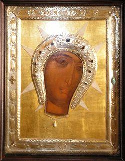 Загрузить увеличенное изображение. 550 x 708 px. Размер файла 163038 b.  Филеримская икона Божией Матери