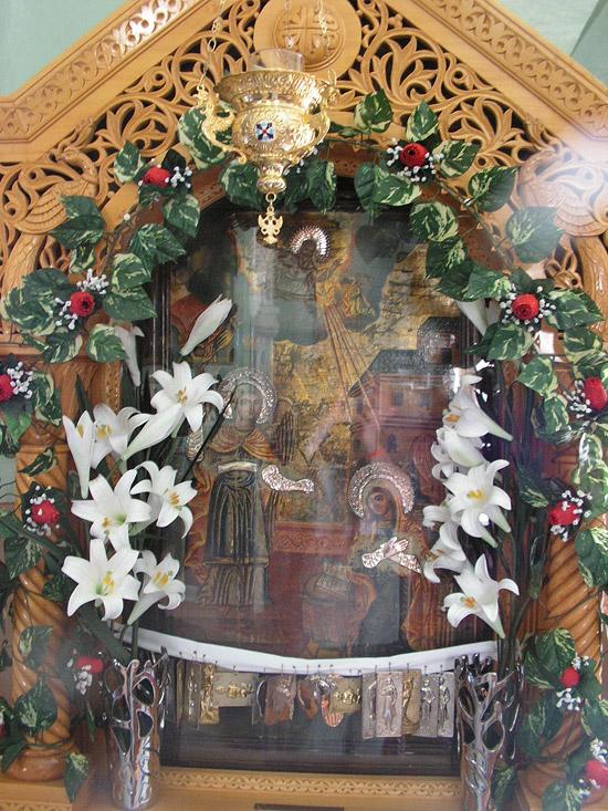 Чудотворная икона архангела михаила на острове сими