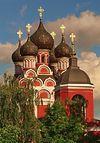 Московская церковь Тихвинской иконы Божией Матери в селе Алексеевском
