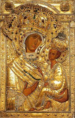Тихвинская икона Божией Матери (празднование 26 июня / 9 июля)