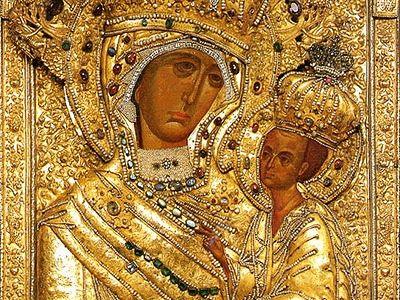 Заступница России. <BR>О Тихвинской иконе Божией Матери