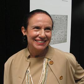 Талия Стефаниду, куратор выставки с греческой стороны