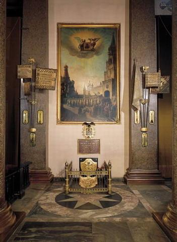 могила кутузова в казанском соборе фото