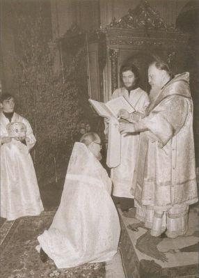 Патриарх Московский и всея Руси Пимен возводит Матфея Стаднюка в сан протопресвитера