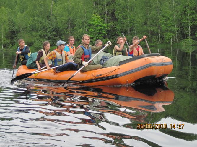 спортивная лодка для сплава