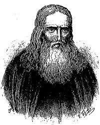 St. Herman of Alaska. Drawing by Valerian Griboyedov
