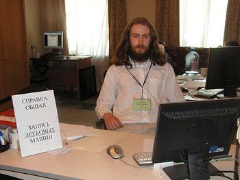 Игорь, дежурный по Синодальному отделу