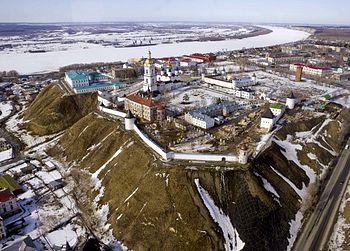 Тобольский кремль. Фото Д. Медведева.