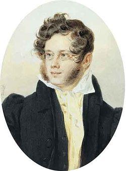 Портрет князя П.А.Вяземского. 1824 г.