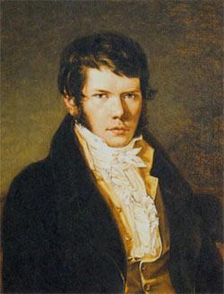 Петр Андреевич Вяземский. Художник К. Рейхель. 1817 г.