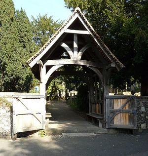 Ворота, ведущие в древнюю церковь святого Мартина в Кентербери