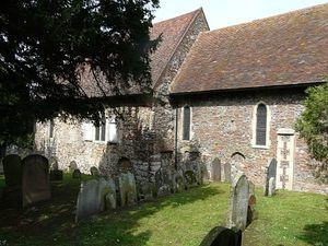 Древняя церковь святого Мартина в Кентербери