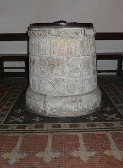 Купель в церкви святого Мартина в Кентербери